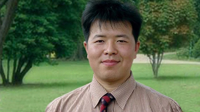 GANG CHEN | After escaping to the United States from persecution in China.